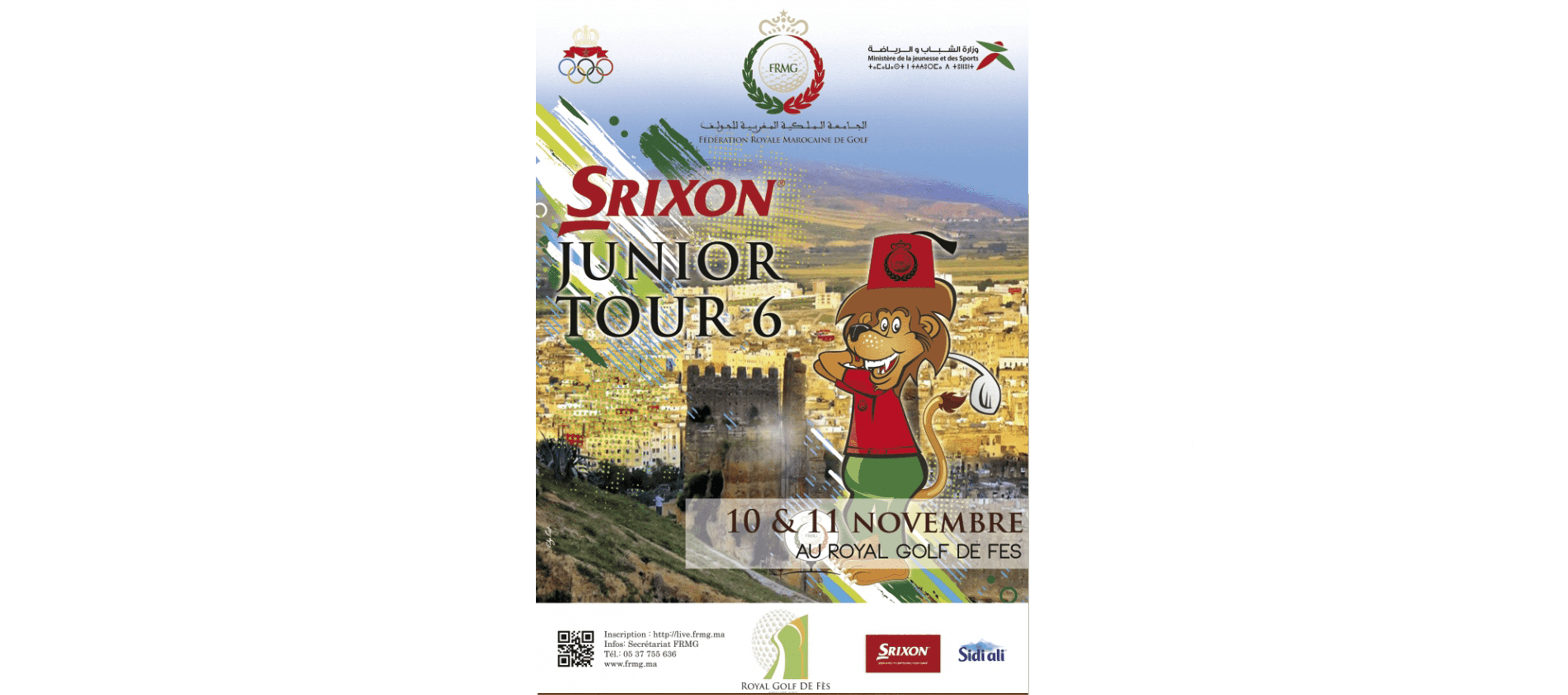 srixon-junior-tour-Royal-golf-de-fes-golfs-du-maroc